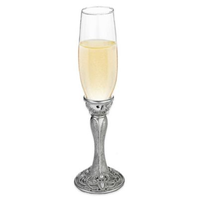 Lillian Rose™ Regal Elegance Jeweled Toasting Flutes (Set of 2)