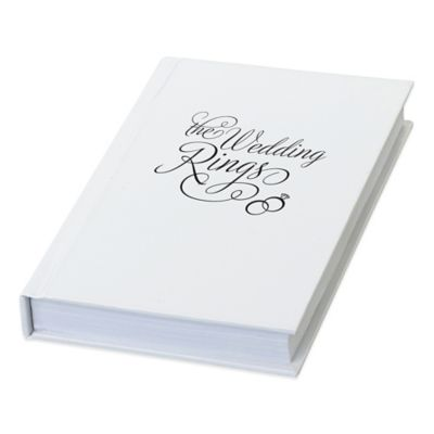 "Lillian Rose™ ""The Wedding Rings"" Book Box"