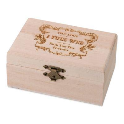"""Lillian Rose™ """"True Love"""" Ring Bearer Box"""