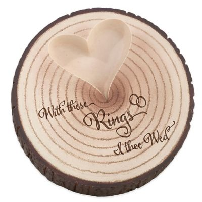 Tree Trunk Ring Holder