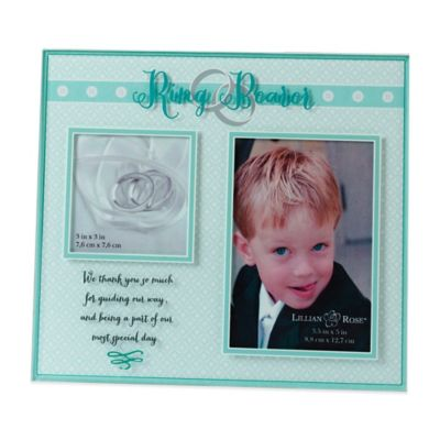 Lillian Rose™ Ring Bearer 2-Opening Picture Frame