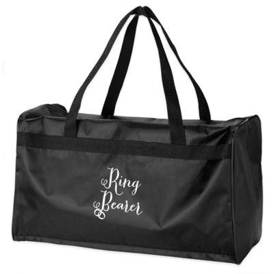 Lillian Rose™ Ring Bearer Duffel Bag