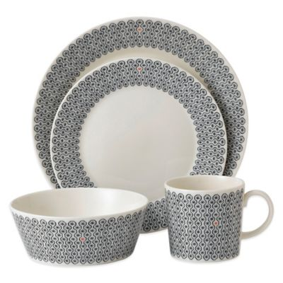 Royal Doulton® Foulard Star 4-Piece Place Setting