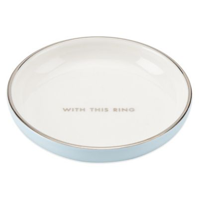 kate spade new york Take the Cake Ring Dish