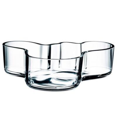 Iittala Alvar Aalto Bowl in Clear