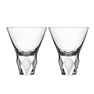Orrefors Carat Martini Glasses (Set of 2)
