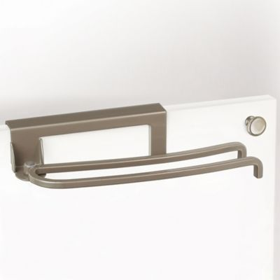 Lynk Over-the-Door Pivoting Towel Bar in Satin Nickel
