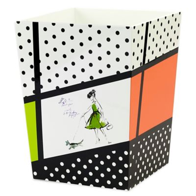 Avanti Couture Girls Wastebasket