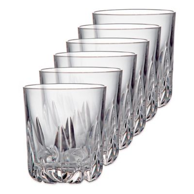 Royal Doulton® Belvedere Double Old Fashioned Glasses (Set of 6)