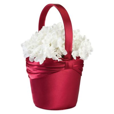 Lillian Rose™ Satin Flower Basket Wedding Essentials