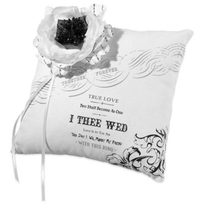 Lillian Rose™ True Love Ring Pillow