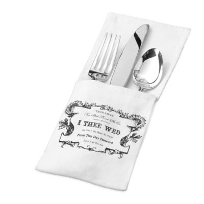 Lillian Rose Silverware Holders