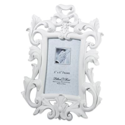 Lillian Rose™ Scroll Picture Frame in White