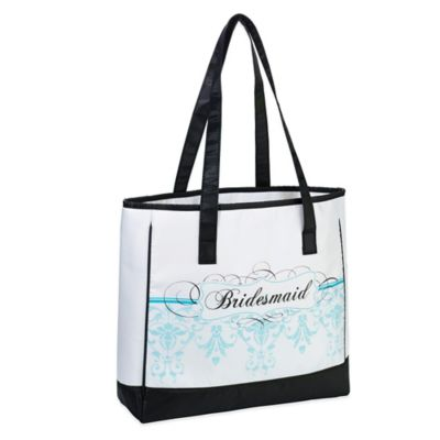 Lillian Rose™ Bridesmaid Tote Bag in Aqua