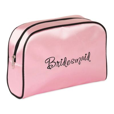 Lillian Rose™ Bridesmaid Medium Travel Bag in Pink/Black