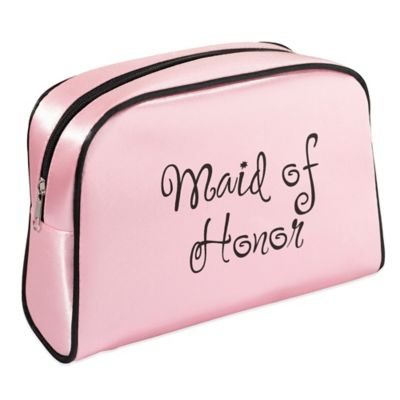 Lillian Rose™ Maid of Honor Medium Travel Bag in Pink/Black