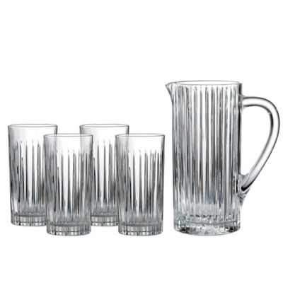 Royal Doulton® Linear 5-Piece Highball Set with Pitcher