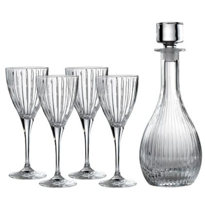 Royal Doulton® Linear 5-Piece Wine Set with Decanter