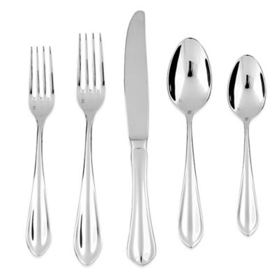 Fortessa Forge 5-Piece Place Setting in Stainless Steel