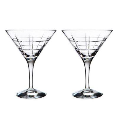 Orrefors Street Martini Glasses (Set of 2)