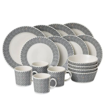 Royal Doulton® Foulard Star 16-Piece Dinnerware Set