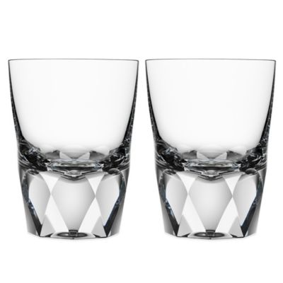 Orrefors Carat Old Fashioned Glasses (Set of 2)