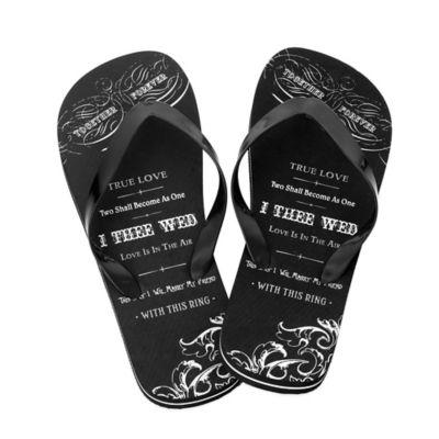 Lillian Rose™ True Love Size Small Men's Flip-Flops