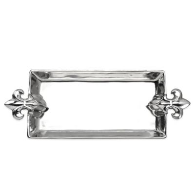 Arthur Court Designs© French Lily Rectangular Serving Tray
