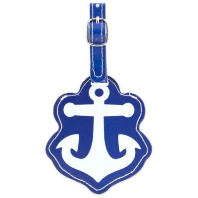 Kikkerland Design Anchor Luggage Tag