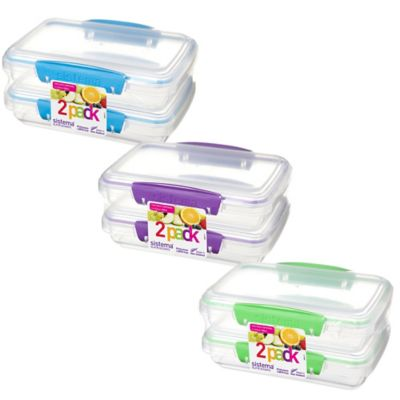 Freezer and Microwave Safe Food Containers