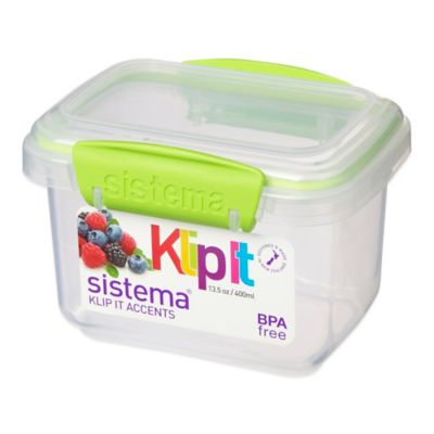 Green Food Plastic Container