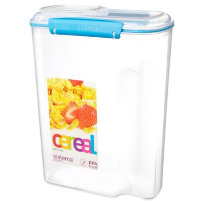 Sistema® KLIP IT® 4.2 Liter Cereal Container in Blue