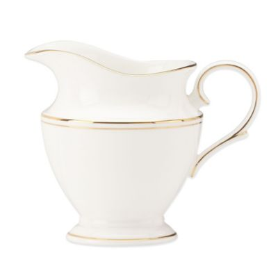 Lenox® Federal Gold Creamer in White/Gold