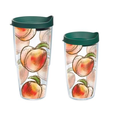 Tervis® Peach Collage 16 oz. Wrap Tumbler with Lid