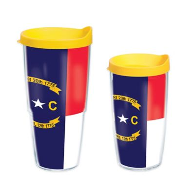 Tervis® North Carolina State Flag 16 oz. Wrap Tumbler with Lid