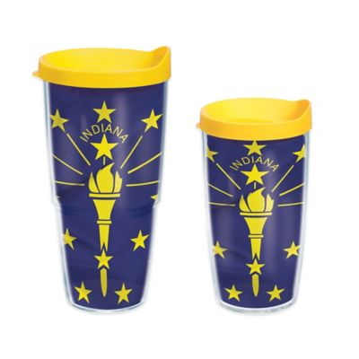 Tervis® Indiana State Flag 16 oz. Wrap Tumbler with Lid