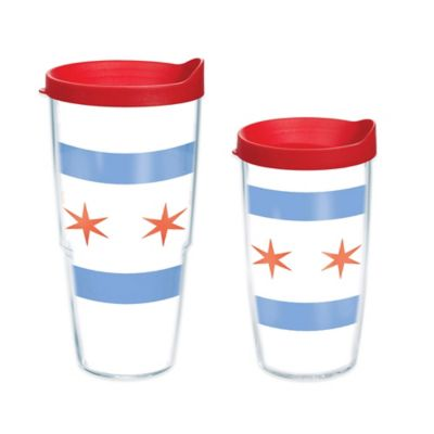 Tervis® Chicago Flag 16 oz. Wrap Tumbler with Lid