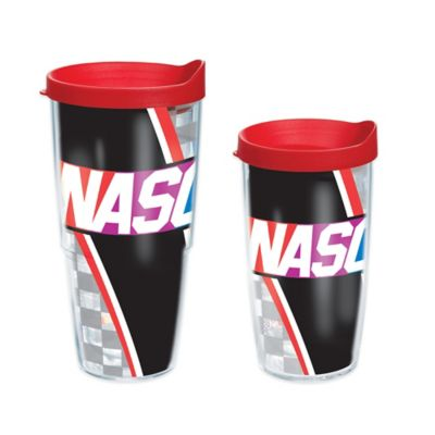 Nascar 16 Oz. Wrap Tumbler with Lid