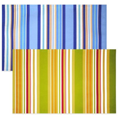 Striped Table Placemats