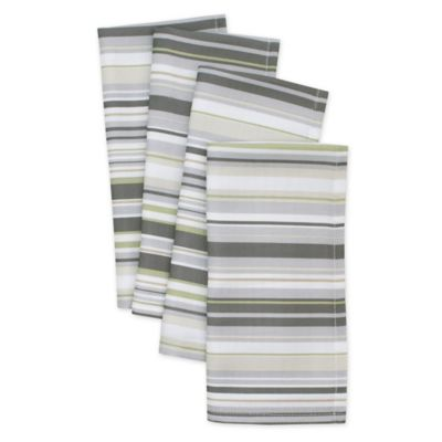 Jelly Bean Stripe Napkins (Set of 4)
