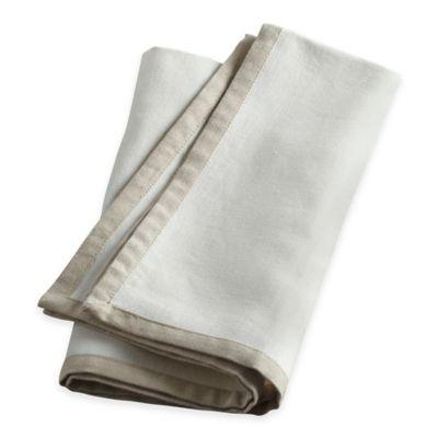 Natural White Linen Napkins