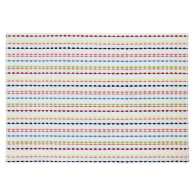 Fiesta® Ditsy Placemat in White/Multi