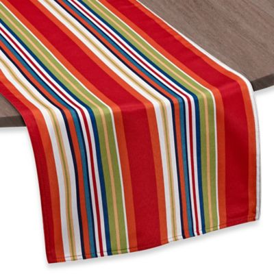 Mystic Stripe 72-Inch Umbrella Table Runner