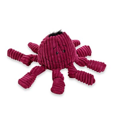 HuggleHounds Octo Knotties Dog Toy in Violet