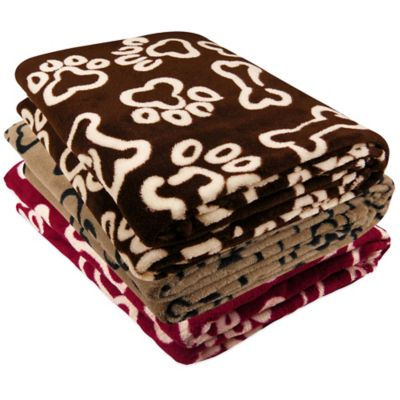 Coffeebean Fleece Throw