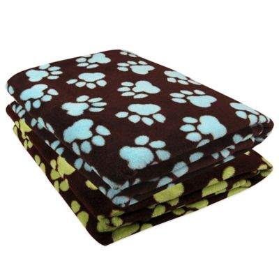 Coffeebean Light Aegean Fleece Throw