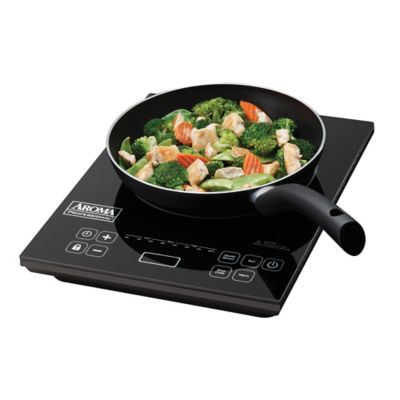 Aroma® Induction Cooktop and Frying Pan