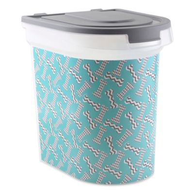 Paw Prints Bones Pet Food Container