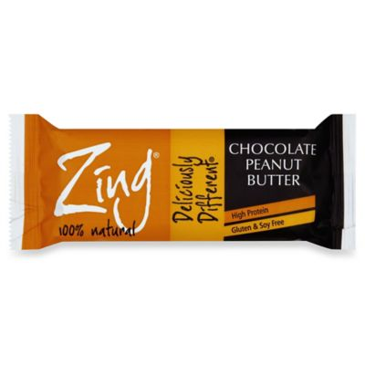 Zing® 1.76oz. Chocolate Peanut Butter Nutrition Bar