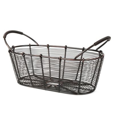 Mesa Bobbin Collection Oval Basket